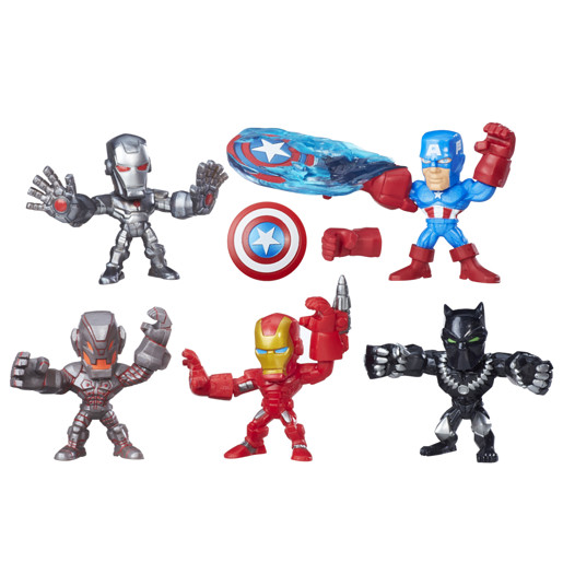 Marvel Super Hero Masheres Micro 5 Pack Figures