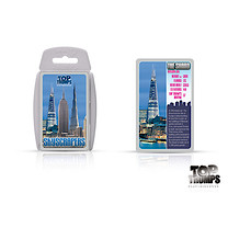 Top Trumps Skyscrapers Cards