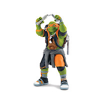 Teenage Mutant Ninja Turtles Movie 2 Super Deluxe Figure - Michelangelo