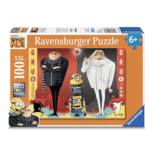 Ravensburger Despicable Me 3 - Minions Gru and Dru Puzzle XXL 100 Pieces