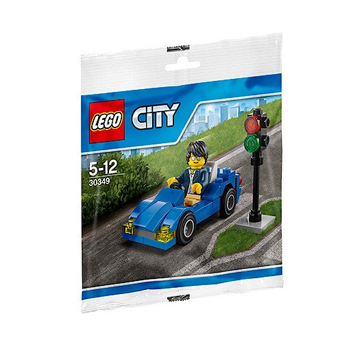 LEGO CITY SET 30349 SPORTS CAR DRIVER