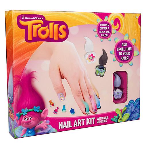 Dreamworks Trolls Nail Art Kit Dreamworks Trolls Search By Brand