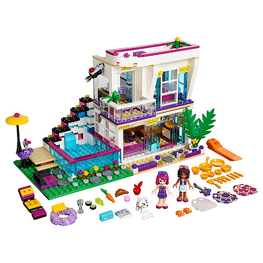 Lego Friends Livis Popstar House The Entertainer