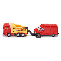 Siku Diecast Recovery Truck with Van