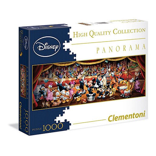 Clementoni - Disney High Quality Collection Panorama Puzzle