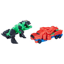 Transformers Robots in Disguise Combiner Force Crash Combiners - Grimlock and Optimus Prime