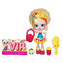 Shopkins Shoppies 15cm Popette Doll