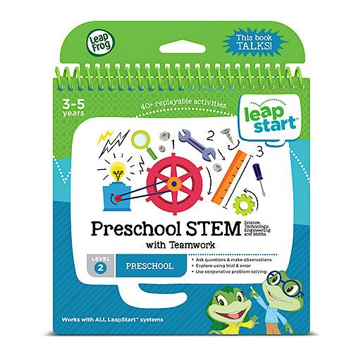 LeapFrog Leapstart Level 2 Activity Book - Preschool STEM