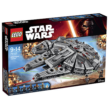 LEGO Star Wars The Force Awakens Millennium Falcon - 75105 - The ...