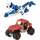 Matchbox Jurassic World Land and Air Vehicle 2 Pack - Sky Safari & M8X 4x4
