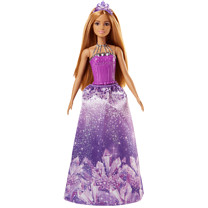Barbie Dreamtopia Princess Doll - Purple Crystal