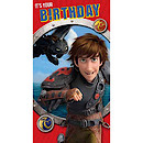 How to Train Your Dragon Birthday Card