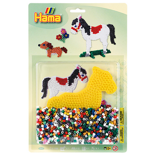 Hama Beads Starter Pack - Pony & Dog