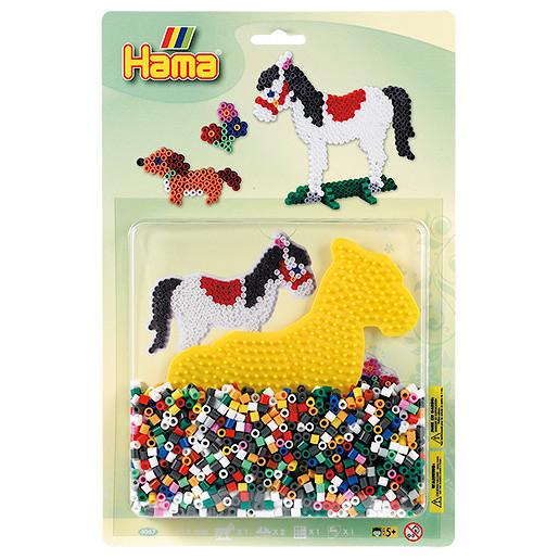 Hama Beads Starter Pack  Pony & Dog