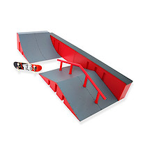 Tech Deck Ryan Sheckler Warehouse Plan B - Ramp, Quarter Pipe and Grind Wall Version 3