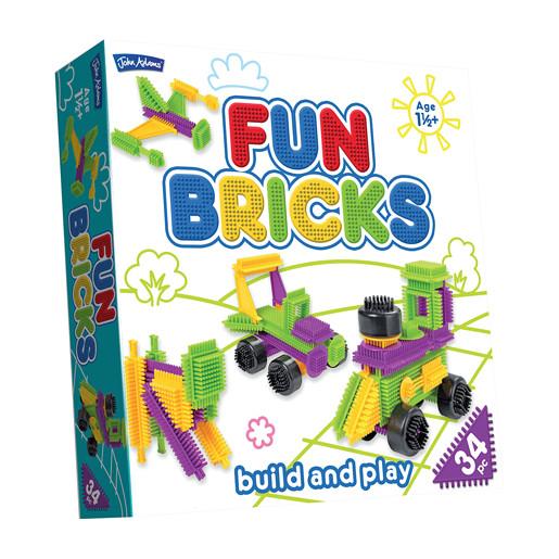 Fun Bricks Build and Play �?? 34pc