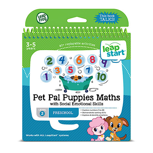LeapFrog Leapstart Level 2 Activity Book - Pet Pal Puppies Maths