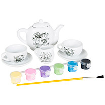DreamWorks Trolls Paint Your Own Tea Set