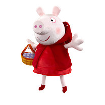Peppa Pig Once Upon a Time Soft Toy - Red Riding Hood Peppa
