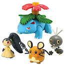 Pokemon XY 4 Figure Gift Pack - Venusaur, Dedenne, Scatterbug and Mawile