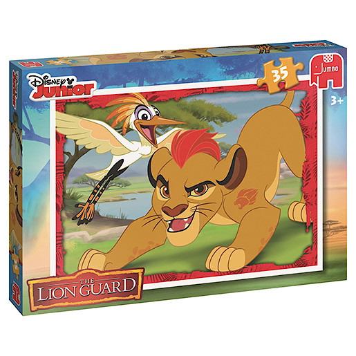 Image of Disney The Lion Guard 35 Piece Puzzle - Kion & Ono