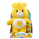 Care Bears Medium Soft Toy with DVD - Funshine Bear