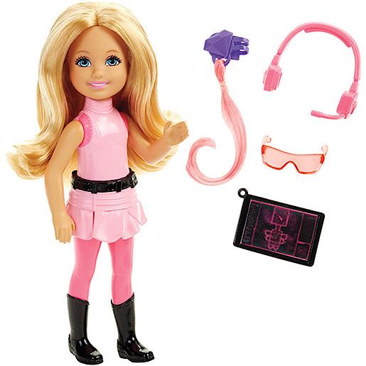 Barbie Spy Squad Chelsea & Accessory  Barbie Spy Squad Junior Doll Pink