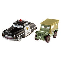 Disney Pixar Cars 2 - Race Team Sheriff and Sarge