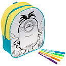 Minions Colour Your Own Backpack