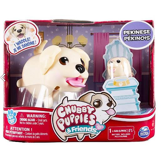 Image of Chubby Puppies Pekinese Dog Interactive Pet