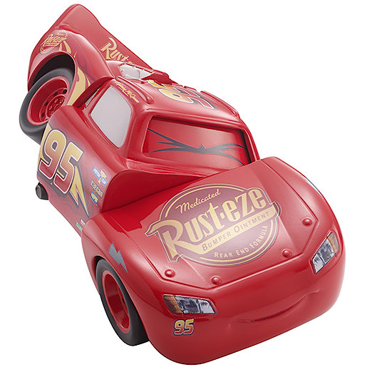 Disney Pixar Cars 3 Race & 'Reck Lightning McQueen Vehicle