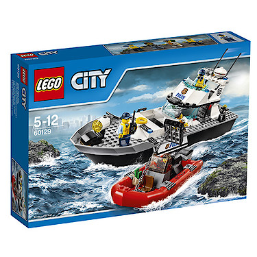 lego city police patrol boat 60129 enlarged view of picture - Lgo City Police