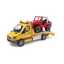 Bruder Mb Sprinter Transporter With Cross Country Vehicle & L & S Module