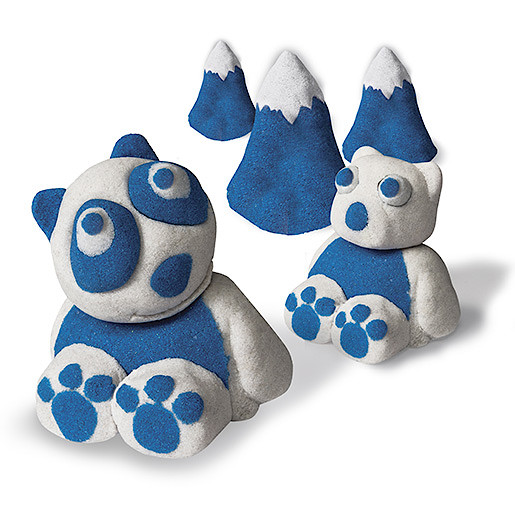 Picture of Kinetic Sand Build 2 Colour Pack - Blue and White