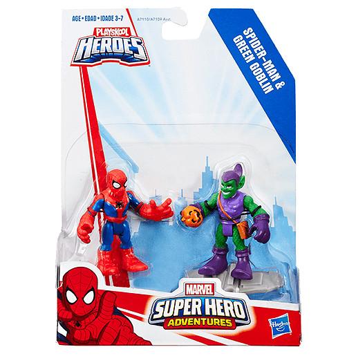 Playskool Heroes Marvel Super Hero Adventures Spider-Man and Green Goblin