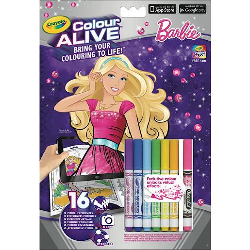Crayola Colour Alive Barbie