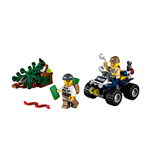 Lego City Swamp Police ATV Patrol - 60065