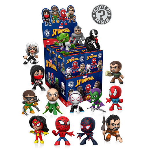 Funko Mystery Minis - Spiderman (One figure supplied)