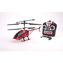 Hurricane Surfer RC Helicopter - Red