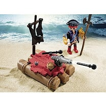 Playmobil 5655 Small Pirates Carry Case