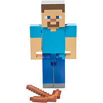 Minecraft 12cm Action Figure - Steve with Pickaxee