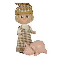 Masha and The Bear 12cm Doll with Pig Figure