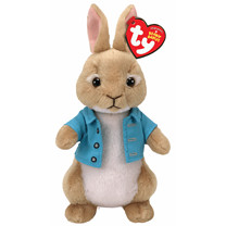Ty Peter Rabbit Beanies - Cotton Tail