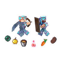 Minecraft Steve Hardcore Survival Pack