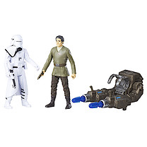 Star Wars The Force Awakens Deluxe Figure Two Pack -  Poe Dameron & First Order Snowtrooper
