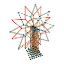 K'Nex 6 Foot Double Ferris Wheel Building Set