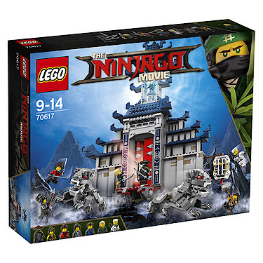 LEGO The Ninjago Movie Temple of The Ultimate Ultimate Weapon 70617 ...