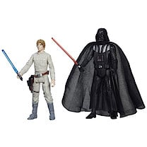 Star Wars Mission Series - Luke Skywalker and Darth Vader Figures