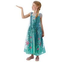 Disney Frozen Fever Elsa Dress - Medium (Age 5-6)