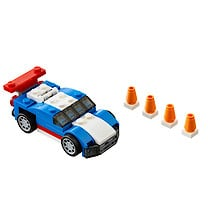 Lego Creator 3-in-1 Blue Racer - 31027